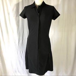 Nike Golf Tour Performance Black Dri-Fit Dress